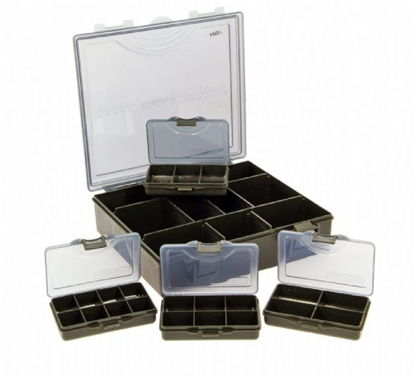 Small Storage Box System with 4 Bit Boxes 1