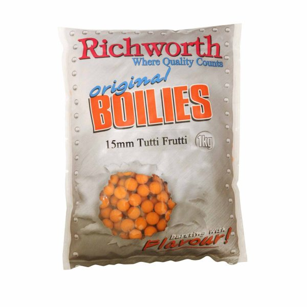 Richworth - Tutti Fruitti Boilies 15mm 1Kg 1