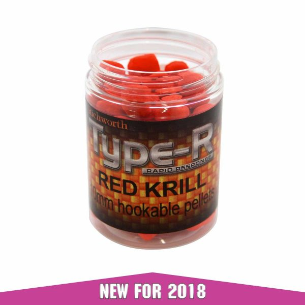 Richworth - Type-R Red Krill 10MM Hookable Pellets 1