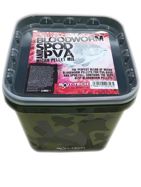 Bait-Tech - Bloodworm Spod & PVA Mix 1