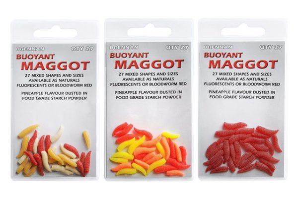 Drennan Buoyant Maggot - Naturals 1