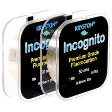 Incognito Fluorocarbon 50mts 5lb 0.22mm 1