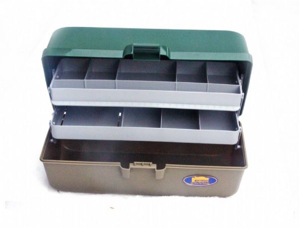 Lineaeffe - 2 Tray Cantilever Tackle Box 1