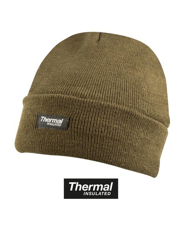 Thermal Bob Hat - Olive Green 1