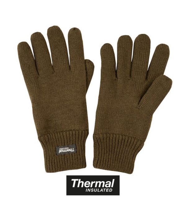 Thermal Gloves - Olive Green 1