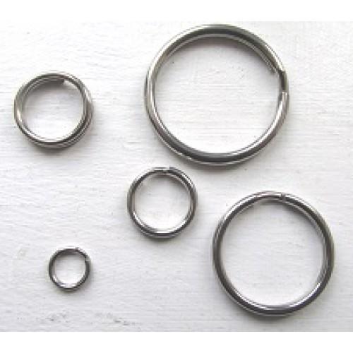 Breakaway - Stainless Steel Round Split Rings 1
