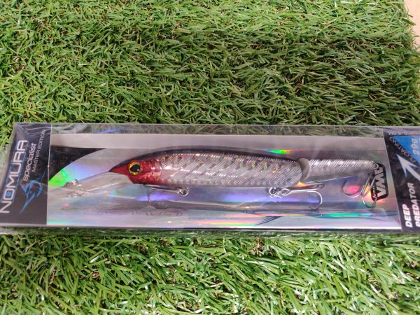 Nomura - Deep Predator Red Silver 29g 14cm 1