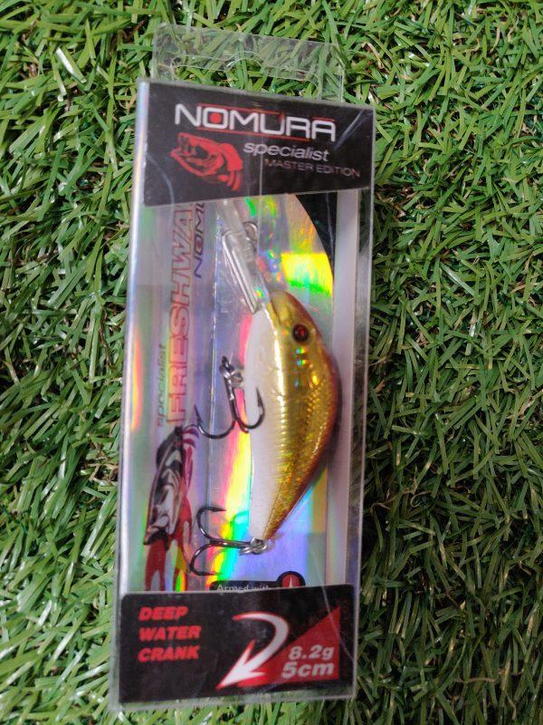 Nomura - Deep Water Crank Red Gold 8.2g 5cm 1