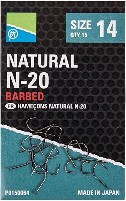 Preston - Natural N-20 Barbed 1