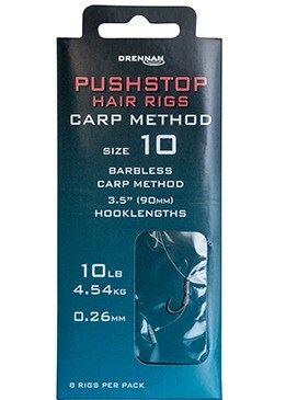 Drennan Pushstop Hair Rigs Carp Method 1