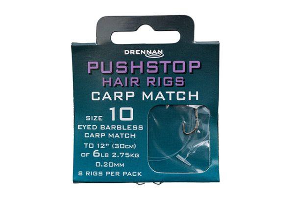 Drennan Pushstop Hair Rigs – Carp Match 1
